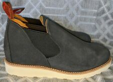 Red Wing Romeo Chukka Heritage Boot Navy Rough Out 8129 7 E Wide