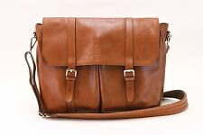 NWT$3495 Brunello Cucinelli Men's 100% Leather Briefcase With Logo Hardware A176