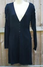 Y LONDON black cardigan size L