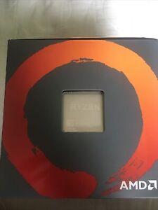 AMD Ryzen 5 2600 with Wraith Cooler. Never Overclocked 3.6-3.9 GHz AM4 Socket