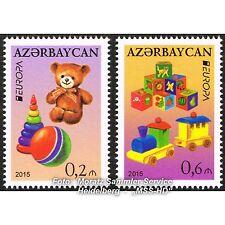 Aserbaidschan Azerbaijan Europa CEPT 2015, Spielzeug/Toys, kmpl. Satz ** postfr.