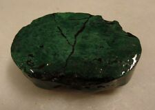 65g Australian malachite rough lapidary mineral specimens collection lot Bo42