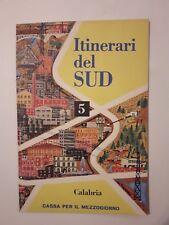 Brochure Turismo Itinerari del Sud n.5 Calabria