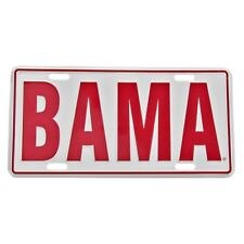 BAMA Aluminum License Plate University of Alabama Crimson Tide UA Car Truck Tag