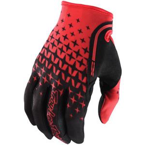Troy Lee Designs XC Gloves 2018 Megaburst Red/Black MTB Mountain Bike MX SALE