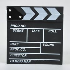 Photo Prop Theater Movie Director Clap Bard Clapper Clapboard Director Board SH