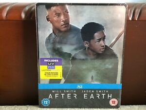BRAND NEW Sealed BLU-RAY/DVD Steelbook - AFTER EARTH