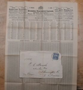 Mayfairstamps Hungary 1900s to US cover & Insert wwp71943