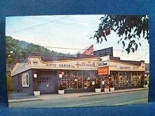 Postcard WV Wheeling Factory Glass Outlet & Gift Shop
