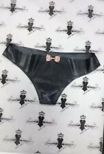 Rubber Latex Girlie Knickers Medium SHOWN Fetish*MADE+DESIGNED IN UK* ONE OFF