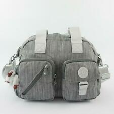 KIPLING DEFEA Handbag Shoulder CrossBody Bag Shaded Grey
