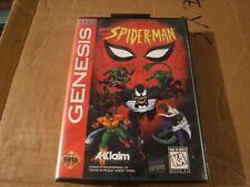 Spider-Man Sega Genesis 1994 COMPLETE Based On Animated Series
