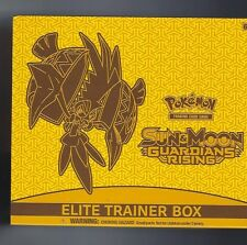 Pokemon Sun & Moon Guardians Rising Elite Trainer