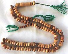 New Tasbih Prayer (99) Beads Wood Misbaha Tasbeeh Sebha - Masbaha # W1