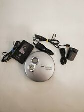 Sony D-EJ756CK Discman Portable CD Walkman Player With Car Kit And Remote TESTED