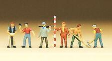 Preiser 79030 Road Workers 'N' Gauge Model Railway Figures