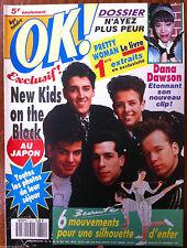 Ok Magazine n°801; New Kids on the Block/ Dana Dawson/ Pretty Woman