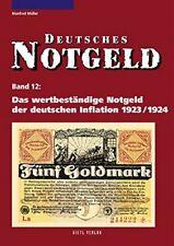 Deutsches Notgeld Das wertbeständige der deutschen Inflation 1923/1924 Buch