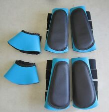 Horse Brush Boots x 2 pairs + Bellboots Combo pack SAVE Any colour or size