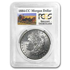 1884-CC Stage Coach Silver Dollar BU PCGS - SKU #32397
