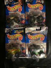 Vintage Hot Wheels Monster Jam Collection WWE Die Cast Mattel New In Packaging