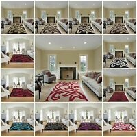 New Florence Small Extra Large Carved Quality Thick Floor Carpet Runner Rugs