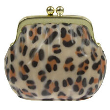 Lip Gloss Balm Leopard Print Pocket Size Beauty Cosmetics Passion Fruit