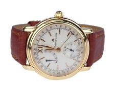 Maurice Lacroix 50730 18K 750 Gelb Gold mechanische Handaufzug Herren Armbanduhr