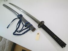 "OLD JAPANESE SAMURAI SWORD WITH HIGH QUALITY MOUNTS LONG 31 1/2"" ACTIVE TEM #S10"