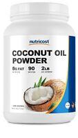 Nutricost Coconut Oil Powder (2LBS) - High Quality, Non-GMO, Gluten Free