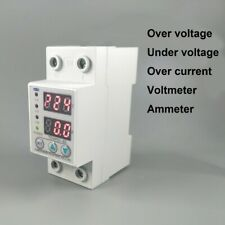 60A 230V over and under voltage protective device over current protection
