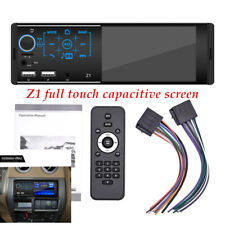 "4.1"" Touch screen dual USB 2.0 Car Bluetooth 4.0 MP3 player TF card radio"