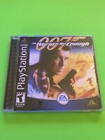 🔥PS1 PlayStation 1 PSX GAME 💯COMPLETE WORKING GAME 007 The World Is Not Enough