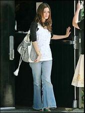 Rebecca Taylor Flowers Stamens White Silk Tunic Top Rachel Bilson - US 4 (AU 8)