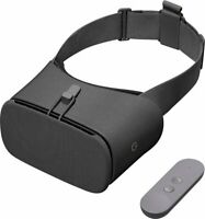 Google Daydream View 2 Virtual Reality Headset VR Charcoal Gray - 2nd Gen