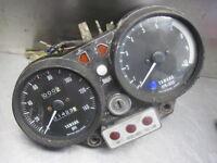 Yamaha 1973 TX750 Instruments Gauges Speedo & Tach Clocks Speedometer Tachometer