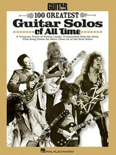 Guitar World's 100 Greatest Guitar Solos of All Time Sheet Music Guita 000702385