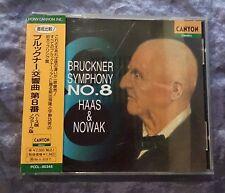 Bruckner Symphony No.8 Haas & Nowak Japan Sample CD