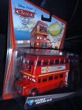 Disney Pixar Cars 2 Deluxe Size DOUBLE DECKER BUS #4