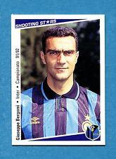 Cards-Figurina/Stickers SHOOTING STARS 91/92-n.118-BERGOMI-INTER-NEW