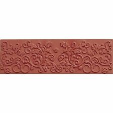 Color Box TEXTURE Impression MOLDING MAT Clay Paper Crafts FLORAL FLOURISH