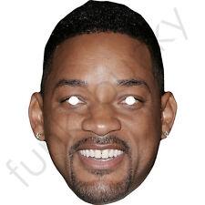 Will Smith attore americano Cantante Celebrità Maschera di carta-tutte le nostre Maschere sono pre-tagliati