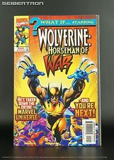 WHAT IF ... #111 Marvel Comics 1998 X-Men Wolverine Horseman of War Universe