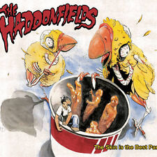 CD THE HADDONFIELDS THE SKIN IS THE BEST PART RARE/MINT!! ST LOUIS MO PUNK ROCK