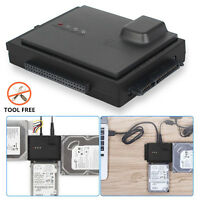 USB 3.0 to SATA Converter Adapter for 2.5/3.5/5.25'' Hard Drive Disk SSD HDD Box