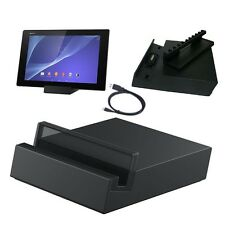 New Desktop Magnetic Charger Dock + USB Cable For Sony Xperia Tablet Z2 DK39