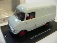 1/43 Bing Opel Blitz Kastenwagen A- 1960 hellgrau 69990