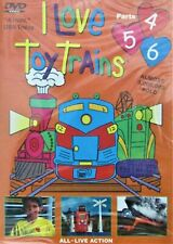 DVD: I Love Toy Trains, Parts 4-6, Tom McComas, Joseph Stachler. Acceptable Cond