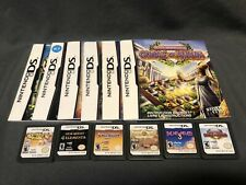 Nintendo DS games lot of 6 Carts and Booklets Tested Puzzle Jewel/Gems Games