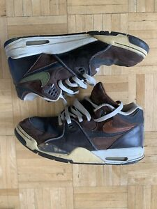 Nike Flight Legacy Brown/Gray/Olive Size 11.5